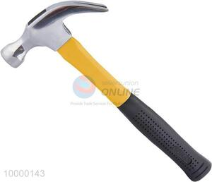 16oz 45 Degree Carbon Steel Claw Hammer With Plastic Handle