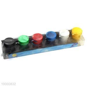 Hot sale 6 colors waterpaint
