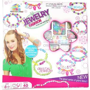 DIY Beads Set/Fashionable Jewellry Set For Children