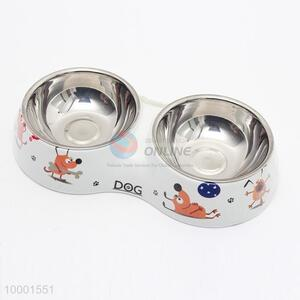 Stainless Steel Water Food Bowl