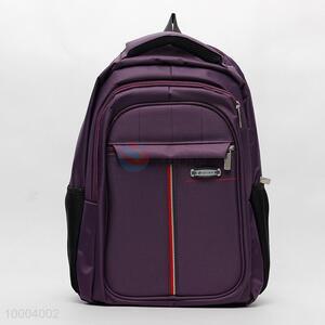 Purple Cavas Laptop Knapsack