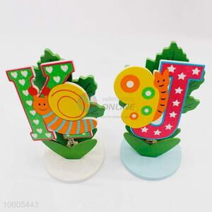 Wholesale Cartoon Words Name Card Holder