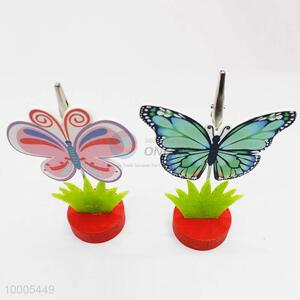 Wholesale Butterfly Nonwovens Name Card Holder