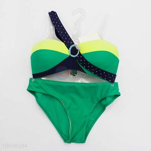 High Quality Green&Yellow Fashion Sexy Bikini