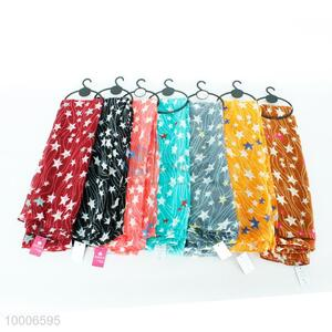 Wholesale High Quality Colorful Fashion Silk Scarf For Ladies