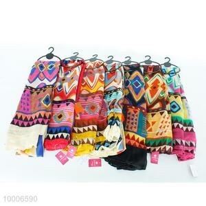 BD Wholesale Thailand Style High Quality Colorful Fashion Scarf For Ladies