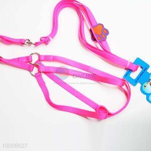Wholesale 1.0*120CM Pink Nylon Dog Leashes