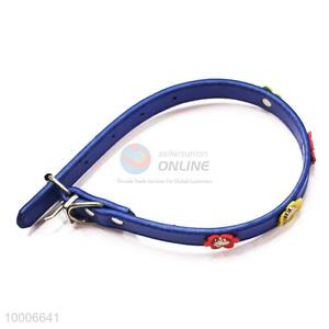 Wholesale Blue Dog Collar With Decoration