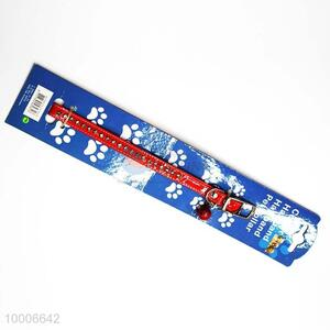 Wholesale Red Dog Collar With Bell