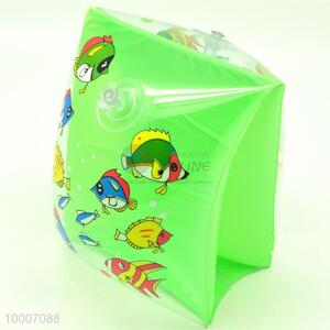 Wholesale Green PVC Transparent Swimming Arm Ring For Kids