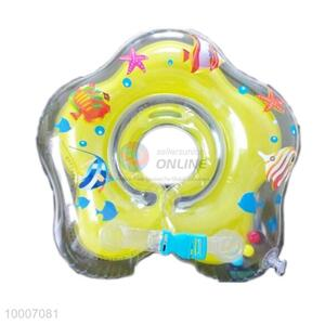 Flower Shaped Inflatable Head Of Swim Ring For Babies