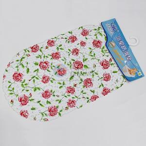 Flower Printed PVC Bath Mat