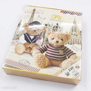 Lovely Bear 240pages pictures/20pcs Sticker Pictures Photo Album