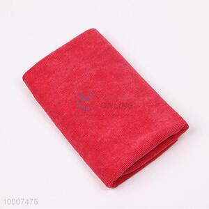 Wholesale Red Microfibre Towel For Cleaning Car