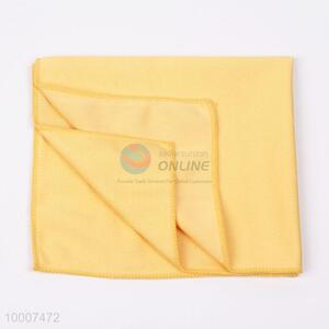 Hot Selling Square Blue Microfibre Towel For Cleaning Glass