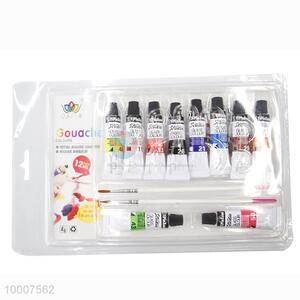 Wholesale 10-color 12ML Gouache Color Paints Set
