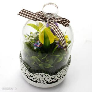 Wholesale Candles Glass Craft/Glass Gift Candles With Spoon