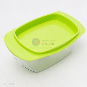 Plastic storage box for butter