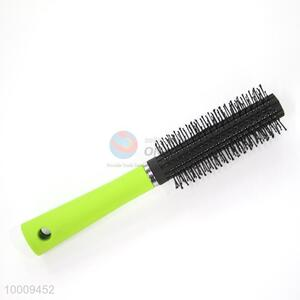 Wholesale High Quality Black Head Afro Pick Comb With Green Handle