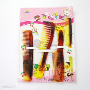 Wholesale New Style Beatiful Pattern Portable Plastic Comb