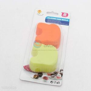 Eco-frienbly Personalized Cheap Silicone Cake Mould Set of 6pcs