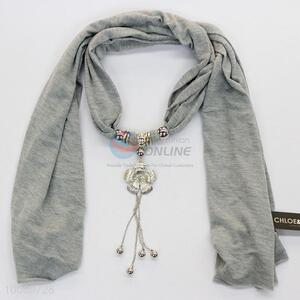 Wholesale lady Jeweled scarf