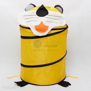 Big capacity tiger linen basket