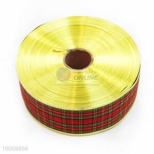 Wholesale Check Pattern Lint Ribbon
