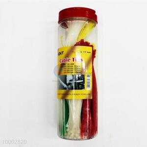 400pcs Cable Ties With Plastic Canister