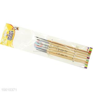 Wholesale 6 Pieces Wood Handle Artist Brush Liner Drawing Pen