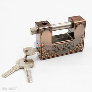 Bronze Aluminum Alloy Rectangle Dual-slot Copper Lock Core