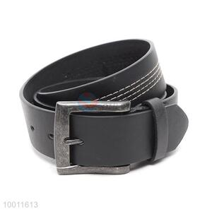 Wholesale Wide Fashion Black PU Belt For Men
