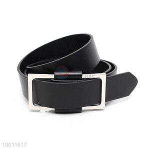 Wholesale High Quality Wide Black Waist Belt For Men