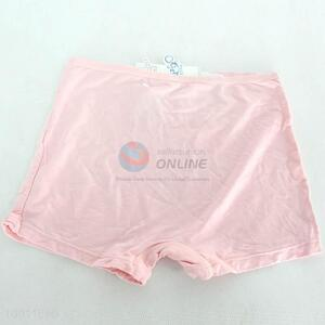 Wholesale Competitive Price Pink/Fleshcolor Soft Underpants