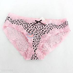 Wholesale Green/Pink Leopard Sexy Underpants For Girl