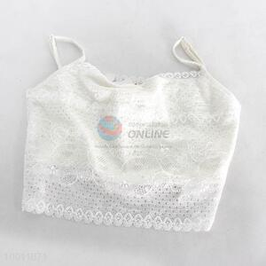 Wholesale High Quality White/Black Lace Gallus Wrapped Chest