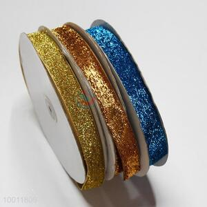 New arrivals 2.5cm glitter ribbon
