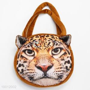 Hot Selling Leopard Face Animal Soft Handbag Tote