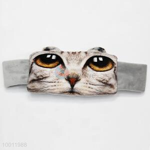 Cat Face 3D Travel Eyeshade Sleeping Eye Mask with Wide Strap