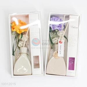 Good Quality Fragrance&Perfume With Carnations Ceramic Bottle