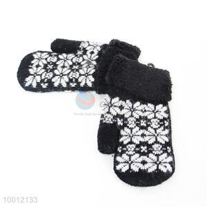 Hot Promotion Rabbit Wool Children Warm Mittens Gloves