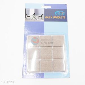 Square Sticky Adhesive Felt Pads For Tables&Chairs,Dia 32MM