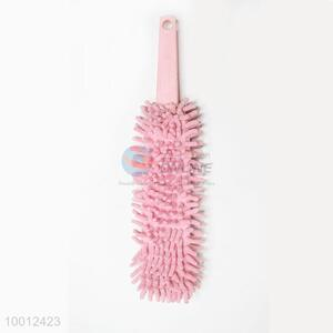 Wholesale Small Size Pink Chenille Fiber Air-condition Cleaning Brush