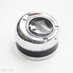 Wholesale Black Mesh Windproof Ashtray Tin Box/Can