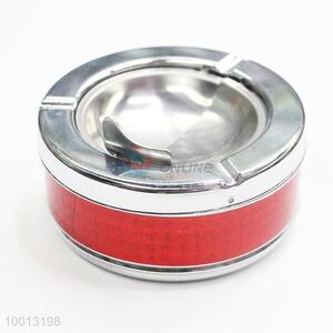 Wholesale Red Windproof Iron Ashtray
