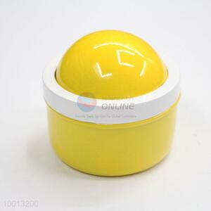Wholesale Yellow Windproof Iron Ashtray