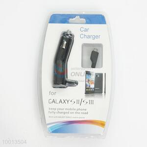 Car Charger For Galaxy SII/SIII