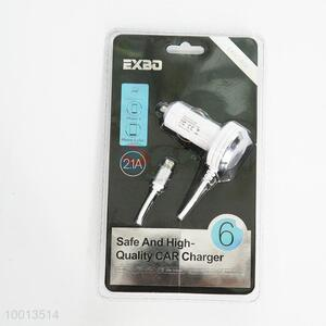 2.1A Safe And High Quality Car Charger