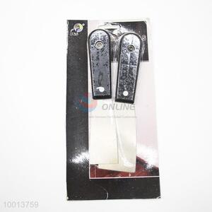 2pcs Plastic Handle Putty Knives Set