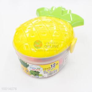 Pineapple Shaped Color Play Dough
